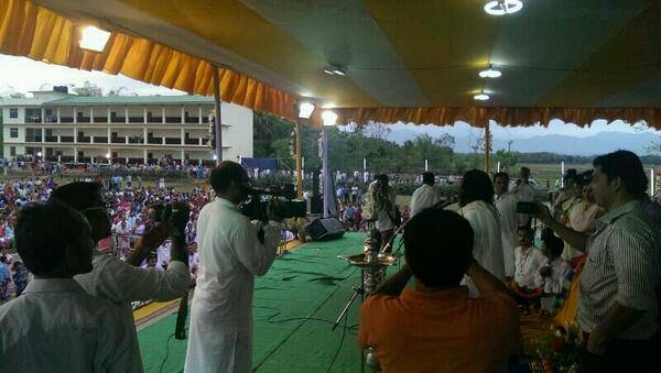 April 8 - Inauguration of the Bhubaneshwarnagar School - pic 2