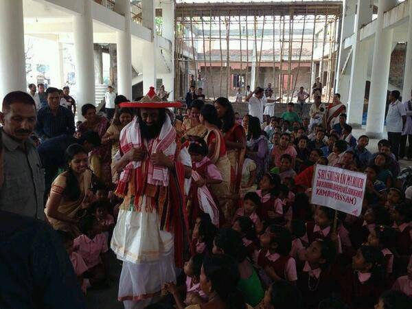April 9 - Inauguration of the Guwahati school