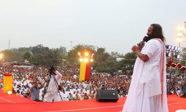 Jahanabad bihar sri sri ravi shankar mar 2014
