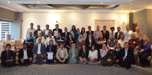 Parlimentarians along with Art of Living faculty members at the leadership program by Art of Living in Kurdistan-Iraq