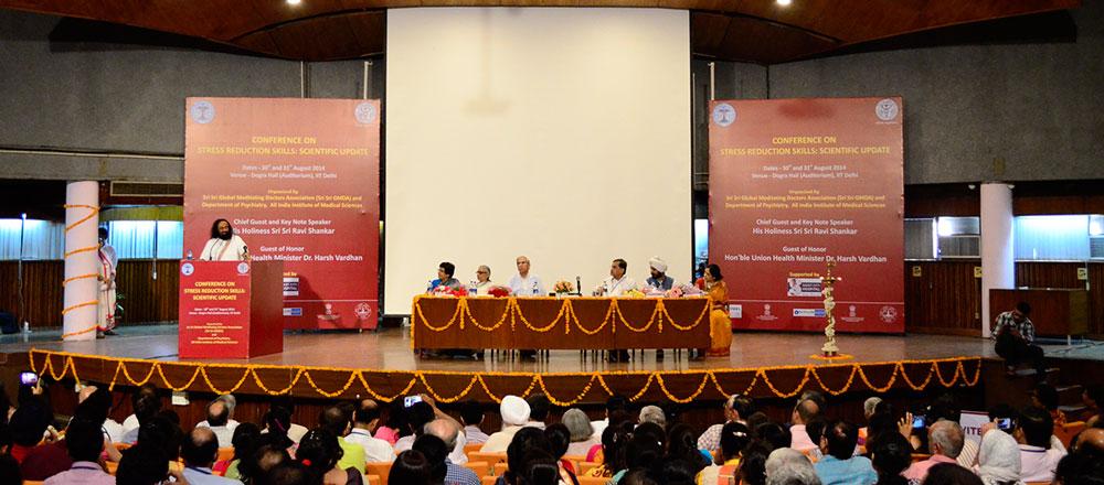 Sri Sri Ravi Shankar at AIIMS Conference