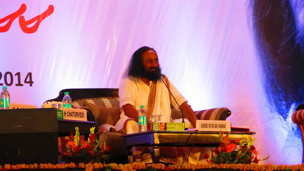 Sri Sri Ravi Shankar at BIMTECH
