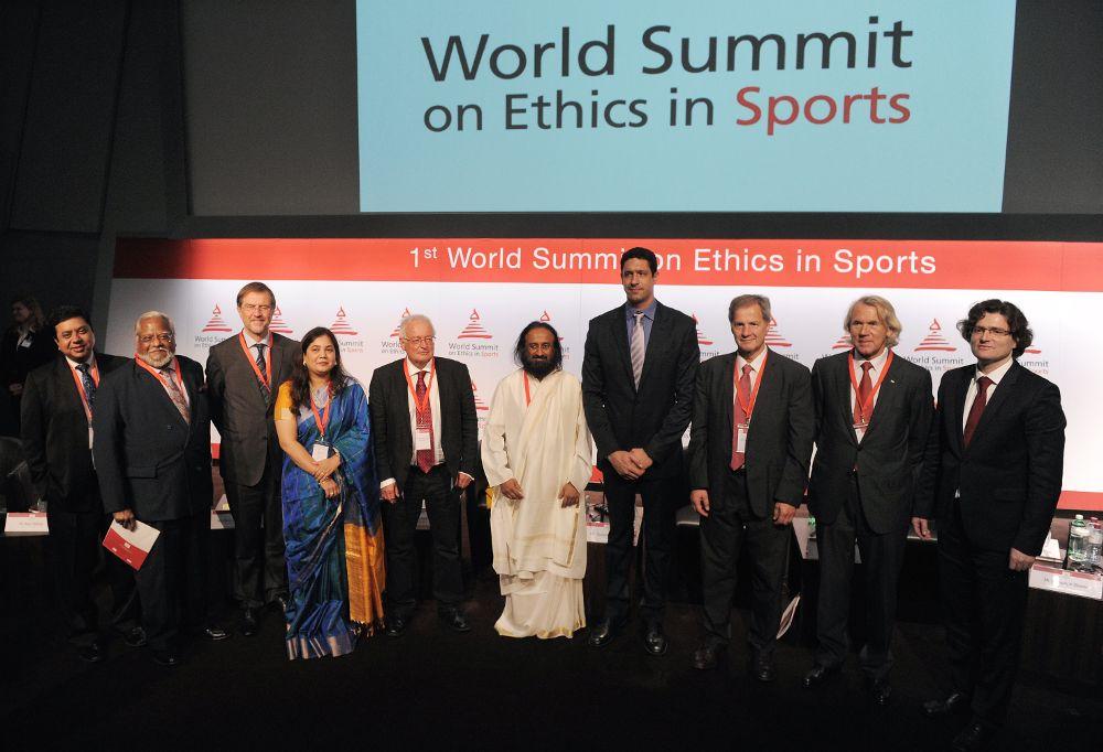 Sri Sri Ravi Shankar Fifa Ethics In Sports Attendees