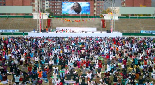 Meditation in Mongolia