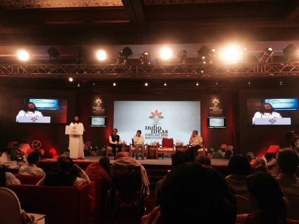 Sri Sri Ravi Shankar - India Ideas Conclave - Inaugural keynote speech