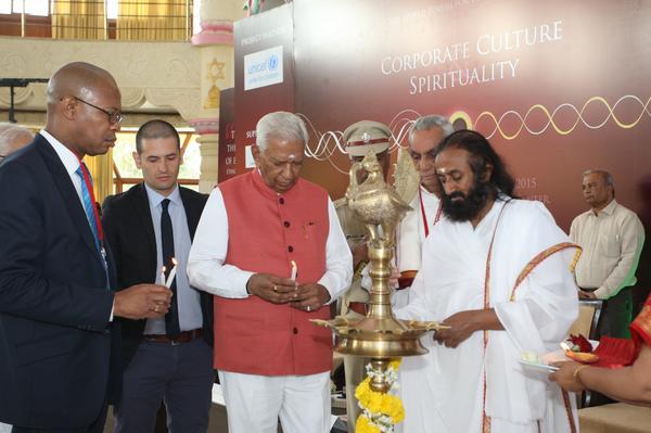 Corporate Culture & Spirituality Inauguration with Sri Sri Ravi Shankar