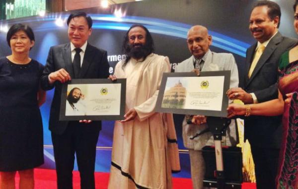 Sri Sri Ravi Shankar Asia Pacific Brand Laureate Award 1