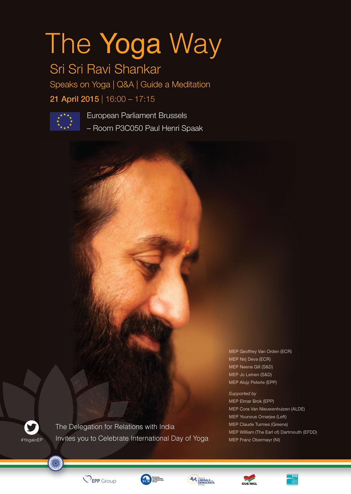 Sri Sri Ravi Shankar - Yoga Way