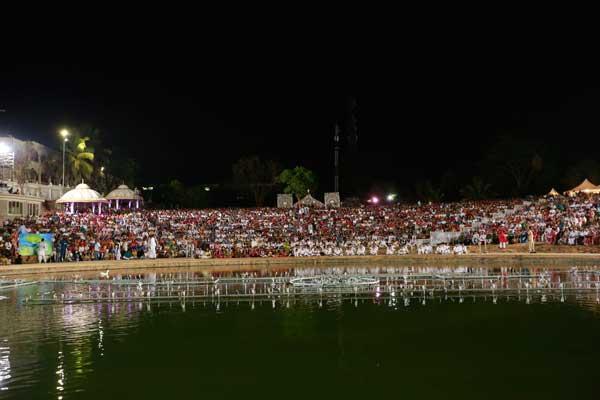 MahaShivratri Over 1 lakh devotees