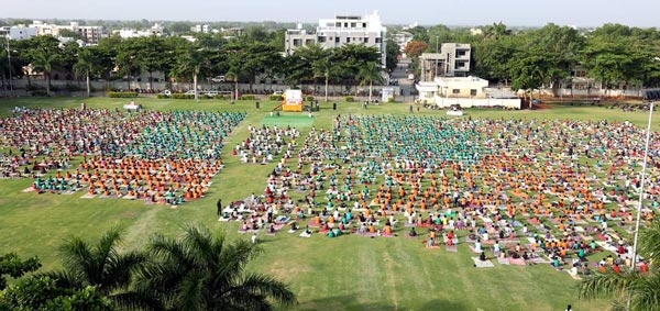 Yoga Day Shirpur, MH, India