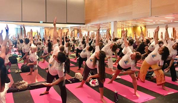 Yoga Day Stockholm, Sweden