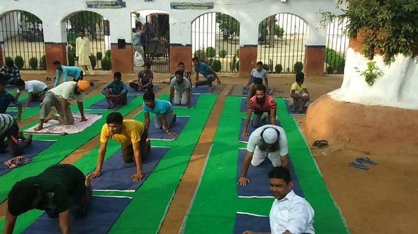Yoga Day UP, India