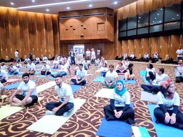 Yoga Day Iraq