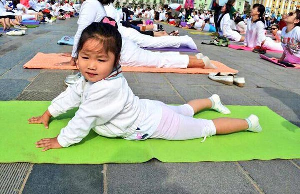 Yoga Day Mongolia