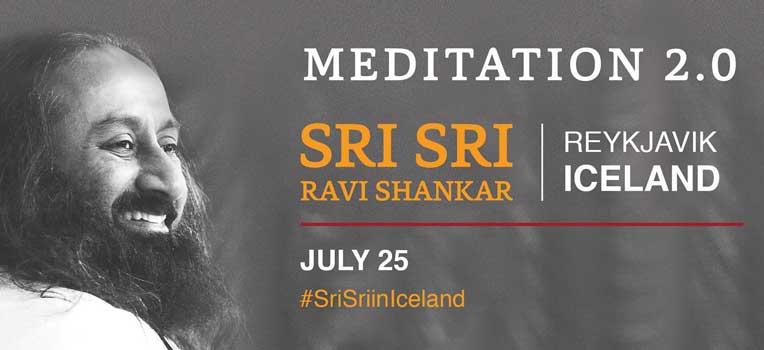 Sri Sri Ravi Shankar in Iceland 2017