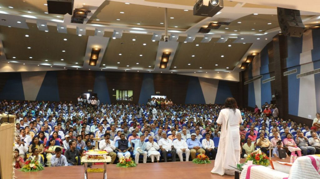 Sri Sri Ravi Shankar addressed ISRO scientists
