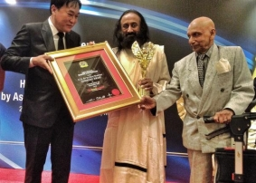 Sri Sri and The Art of Living conferred 2 prestigious Awards in Malaysia