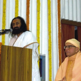 Sri Sri Visits West Bengal