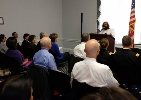 US Congressional Representatives meditate with Sri Sri